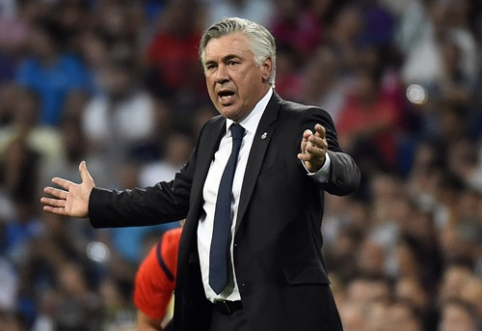 """C. Ancelotti įspėjo """"Inter"""": norime dominuoti aikštėje ir laimėti rungtynes"""