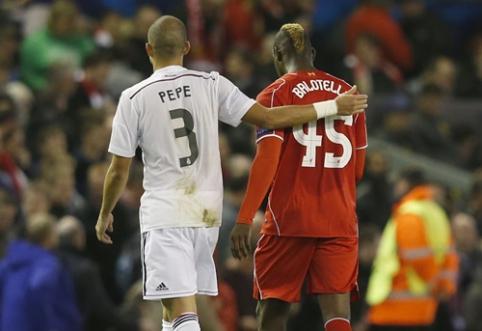 "M.Balotelli poelgis supykdė ""Liverpool"" trenerį"