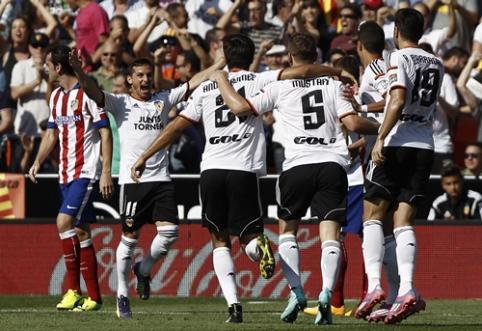 """Pralaimėjimų neturinti """"Valencia"""" nugalėjo Ispanijos čempionus, """"Barca"""" ir toliau skina pergales (VIDEO)"""