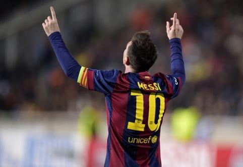 """""""Barcelona"""" ruošiasi galimam L. Messi išvykimui: numatė argentiniečio įpėdinį"""