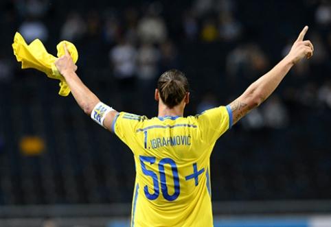 Z. Ibrahimovičius grįžta į Švedijos rinktinę