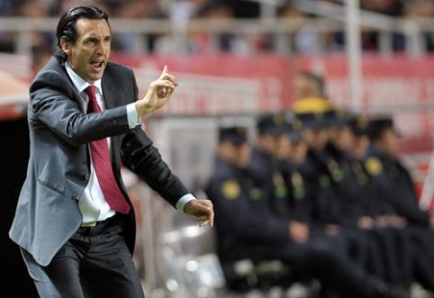 """Iš """"Arsenal"""" išspirtas U. Emery gerina rekordus Ispanijoje"""