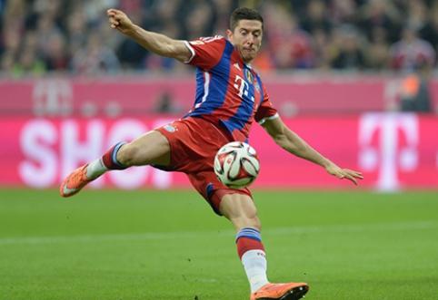 """T. Mulleris: R. Lewandowskis dabar yra naudingesnis """"Bayern"""" už C. Ronaldo"""