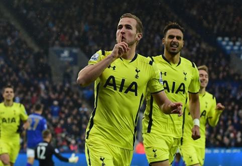 """H. Kane'as: """"Tottenham"""" pagaliau yra pajėgus nugalėti didžiąsias komandas"""
