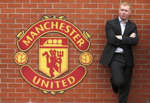 """P. Scholesas: """"Man United"""" gali pakartoti pernykštį """"Liverpool"""" žygį link titulo"""