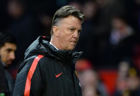 """Solskjaeras: L.van Gaalas yra idealus treneris """"Man Utd"""" klubui"""