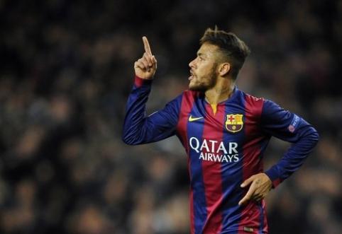 """""""Barcelona"""" prieš """"Getafe"""" turės verstis be Neymaro"""