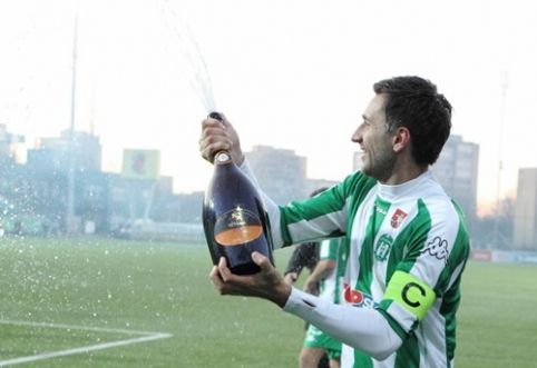 D.Šemberas išrinktas geriausiu A lygos sezono žaidėju