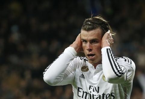 """""""Real"""" neįtraukė G. Bale'o į komandos sudėtį Čempionų lygos rungtynėms su """"Man City"""""""