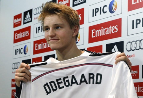 """Pagrindinėje """"Real"""" ekipoje gali debiutuoti 16-metis M.Odegaardas"""