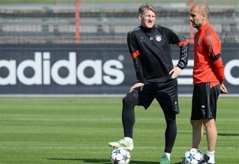 """Čempionų lyga: """"Bayern"""" perrašinės nepalankią istoriją, PSG vyksta kurti stebuklo"""
