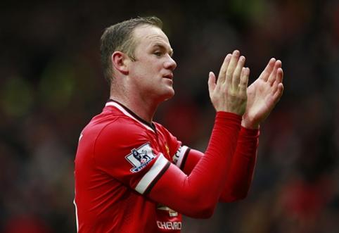 """W. Rooney: taikėmės į tingius """"Man City"""" saugus"""