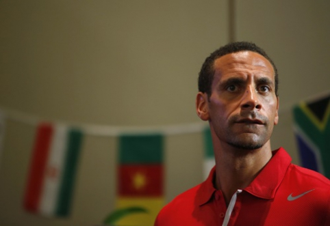 """Man Utd"" legenda R.Ferdinandas kabina bucus ant vinies"