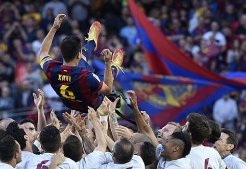"""Xavi: """"Barca"""" – geriausia pasaulyje"""