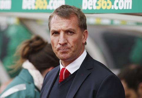 """B. Rodgersas liks prie """"Liverpool"""" vairo"""
