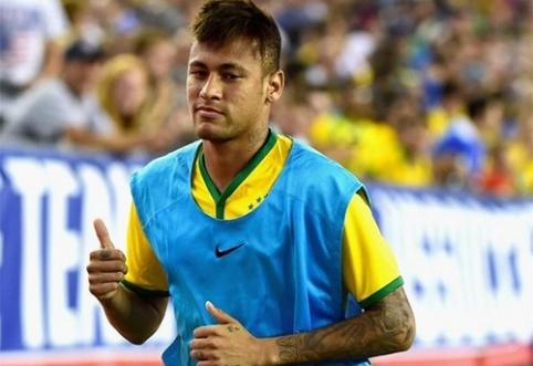 """""""Barcelona"""" ketina padvigubinti Neymaro atlyginimą"""
