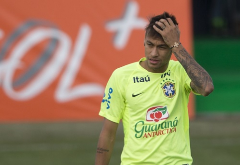 Leonardo: Neymaras nėra tikras Brazilijos rinktinės lyderis