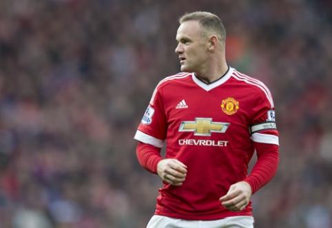 Xavi: W. Rooney turi puikų supratimą žaidimui aikštės viduryje