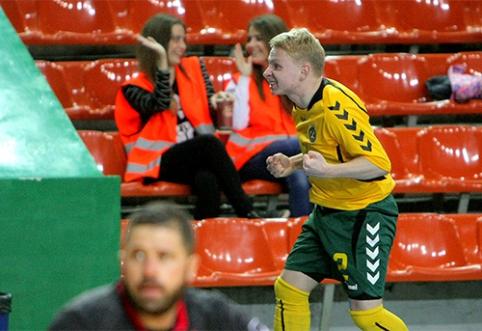 Lietuvos Futsal rinktinė palaužė Maltą (VIDEO)