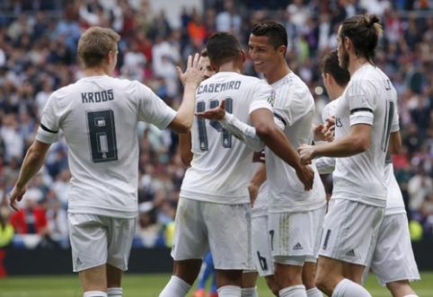 """""""Real"""" neturėjo vargo su """"Levante"""", Neymaro """"pokeris"""" užtikrino """"Barcos"""" pergalę (VIDEO)"""
