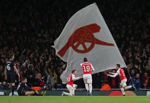 """""""Arsenal"""" užsimojo pagerinti trumpiausio skrydžio į rungtynes rekordą"""