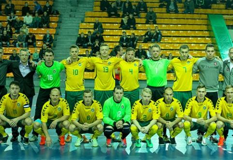 Lietuvos Futsal rinktinė dalyvaus keturių šalių Baltijos taurės turnyre