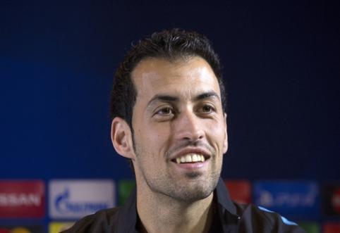 "Xavi: S. Busquetsas turi tapti ""Barcelona"" klubo lyderiu"