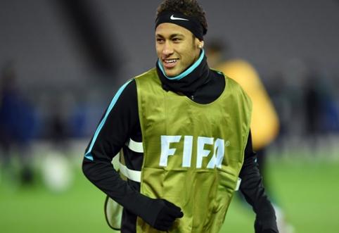 """""""Barca"""" ir toliau ieško puolėjo bei tikisi pasirašyti naują sutartį su Neymaru"""