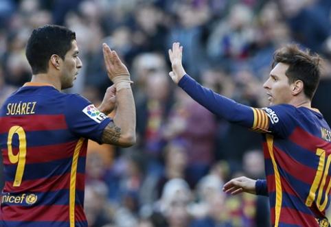 """""""Barca"""" pirmajame Karaliaus taurės ketvirtfinalio mače versis be L. Messi ir L. Suarezo"""