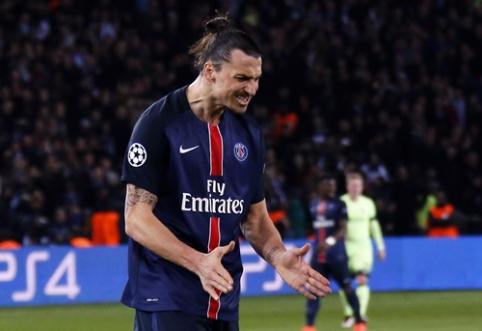 Spauda: Z. Ibrahimovičius dar metams liks PSG klube