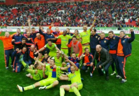"""CSKA išsigelbėjo ir paveržė titulą iš """"Rostov"""", o """"Dinamo"""" iškrito"""