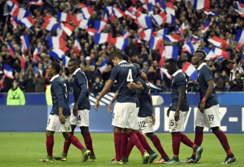 Šeimininkė Prancūzijos rinktinė atskleidė sudėtį Europos čempionatui