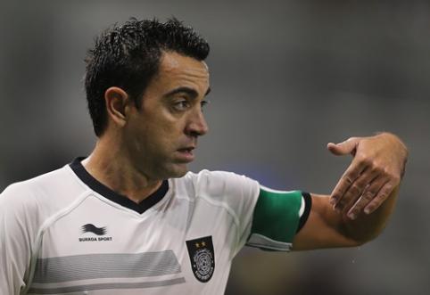 """Xavi - apie paskutinį """"El Clasico"""": """"Real"""" žaidė kaip maža komanda"""