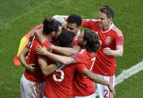 Jungtinės Karalystės derbyje triumfavo Velsas (FOTO, VIDEO)