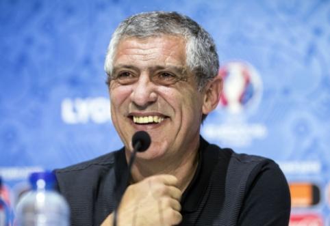 F. Santosas: Portugalijos rinktinė nėra vienas Ronaldo
