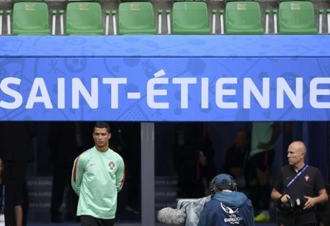 """""""EURO 2016"""" dienos rungtynės: Portugalija - Islandija (apžvalga)"""