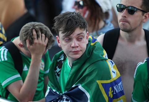 Šiaurės Airijos fanų gretose - tragiškas įvykis