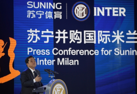 """Oficialu: """"Inter"""" parduotas kinų verslininkams"""