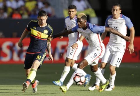 """Šimtmečio """"Copa America"""" prasidėjo Kolumbijos rinktinės pergale (VIDEO)"""