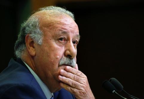 V. Del Bosque traukiasi iš Ispanijos rinktinės
