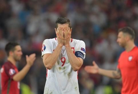 """Lenkijos žiniasklaida: """"Iškritome iš Europos čempionato, nors nepralaimėjome - tai žiauru"""""""