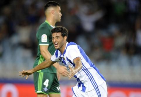 """""""Real Sociedad"""" namuose įveikė """"Real Betis (VIDEO)"""