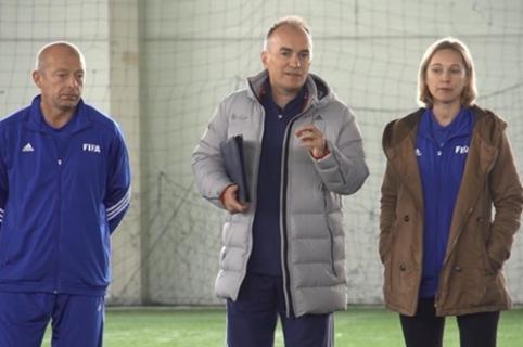 Futsal A lygos treneriams - specialisto iš Kroatijos seminaras (VIDEO)