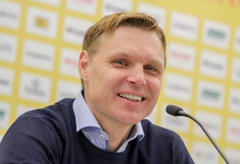 E. Jankauskas: noriu, kad Slovakijoje žaistume drąsiai