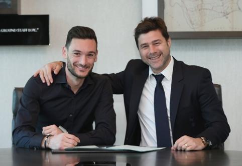 """H. Llorisas pasirašė naują kontraktą su """"Tottenham"""""""