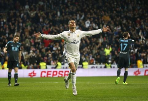 """""""Real"""" namuose be didesnio vargo nugalėjo """"Real Sociedad"""", """"Barca"""" ir """"Sevilla"""" barstė taškus (VIDEO)"""