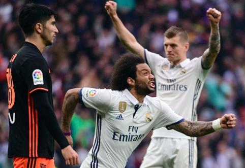 """""""Real"""" ir """"Barca"""" lieka pergalių kelyje, """"Atletico"""" pasismagino Gran Kanarijoje (VIDEO)"""