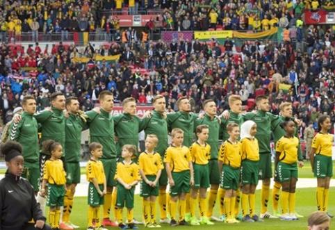 Paskelbta Lietuvos rinktinės sudėtis dvikovai su Slovakija