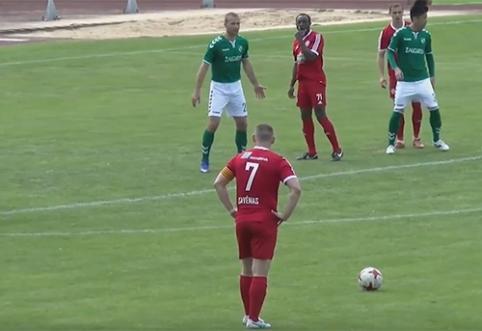 LFF taurė: beviltiškiausia A lygos komanda atsidūrė po Panevėžio ekipos volu (VIDEO)
