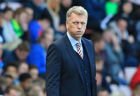 """D. Moyesas palieka """"Sunderland"""""""